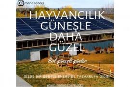 Tarımsal Sulama da Güneşten elektrik