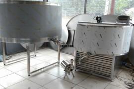 1 tonluk şarküteri tip süt soğutma tankı