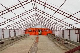 Çadır yapılarının mimarı.Önallar Cadir