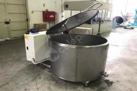 DENKROM marka süt soğutma tankı