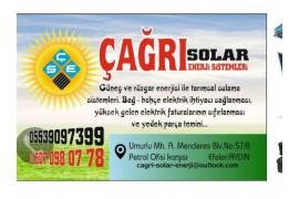 Güneş ve Rüzgar Enerjisi Sistemleri kurulur