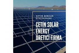 Güneşten ve rüzgardan elektirik üreten sistem kurulumu yapmaktayız