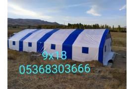 Büyükbaş, küçükbaş hertürlü çadır barınak yapılır